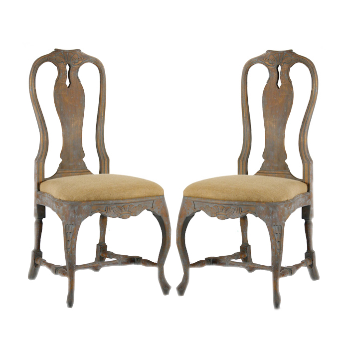 Impressive French Dining Chairs Distressed French Dining Chairs Antiqued Chairs French Chairs