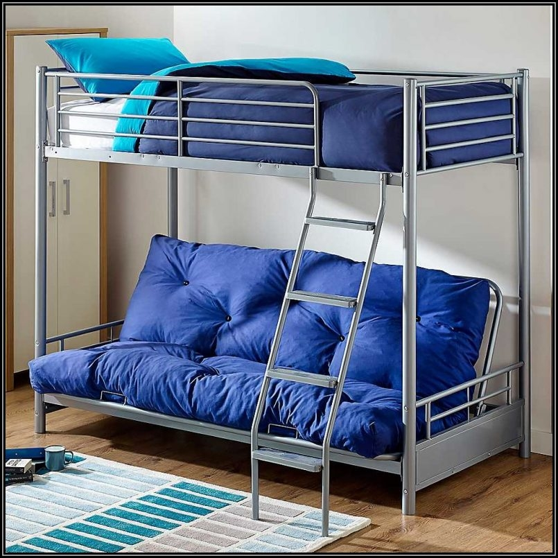 Impressive Futon Bed With Mattress Included Bedroom Bunk Beds Twin Over Futon Bed With Mattress Included Best
