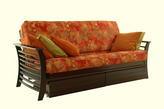 Impressive Futon Beds Queen Size Queen Size Futon Frame Design Atcshuttle Futons For Futon Beds