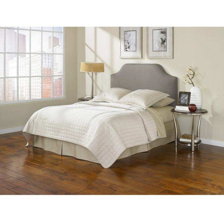 Impressive Grey Full Size Bed Bedroom Queen Size Bed With Grey Upholstered Headboard Using
