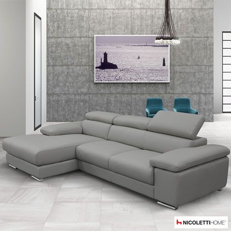 Impressive Grey Leather Chaise Lounge Best 25 Grey Leather Sofa Ideas On Pinterest Grey Leather Couch