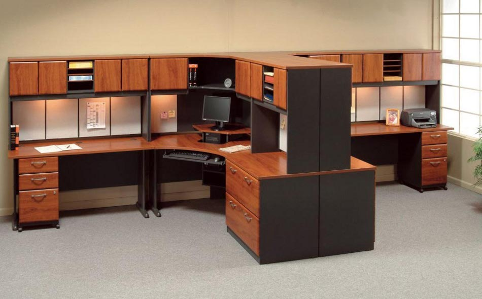 Impressive Home Office Cubicle Wooden Cubicle Workstations House Design And Office Ideal
