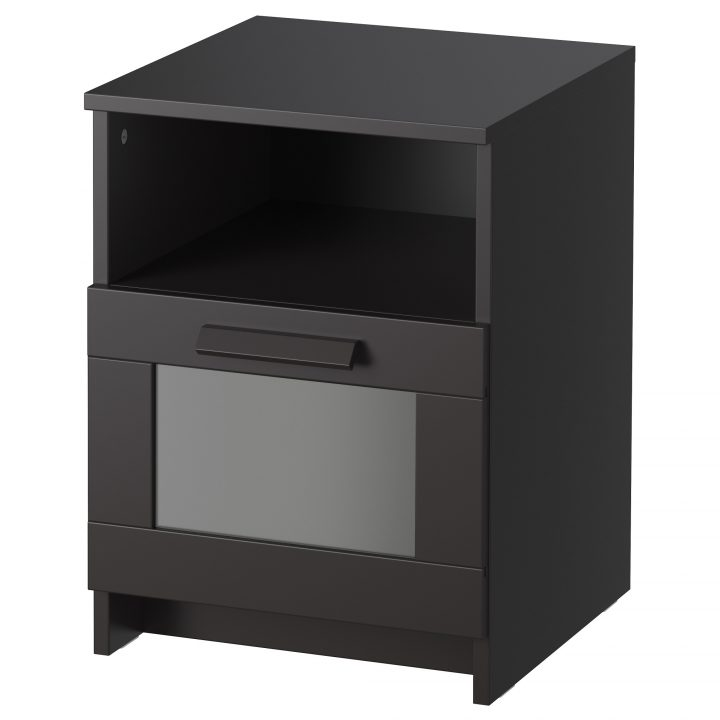 Impressive Ikea End Tables With Drawers Nightstand Breathtaking Ikea Nightstand Hemnes White Stain