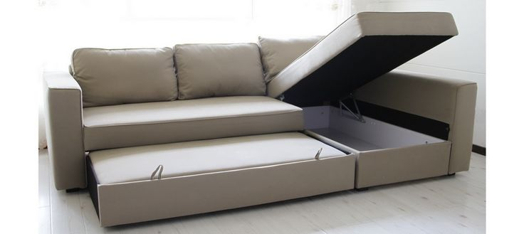 Impressive Ikea Sofa Bed And Storage Sofa Beds Design Inspiring Modern Manstad Sectional Sofa Bed