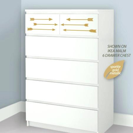 Impressive Ikea White 6 Drawer Dresser Dresser Photo 5 Of 8 Image Instructions 6 Drawer White Malm Ikea