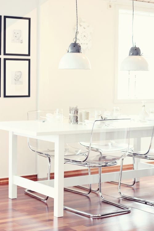 Impressive Ikea White Dining Room Chairs Best 25 Clear Chairs Ideas On Pinterest Ghost Chairs Dining