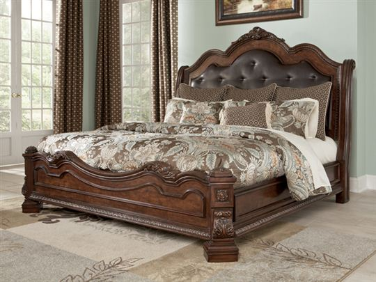 Impressive King Size Bedroom Set Ashley Furniture Pretentious Inspiration Ashley Furniture King Size Bedroom Sets