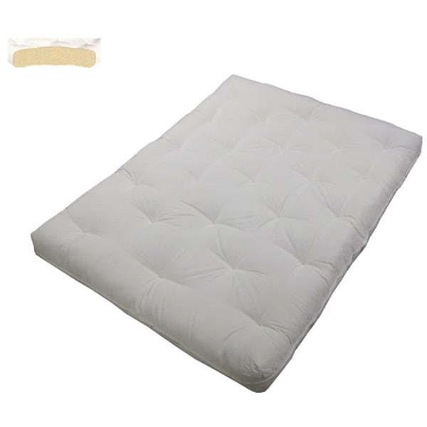 Impressive King Size Futon Mattress Au Natural Cotton Filled 8 Inch Loft King Size Futon Mattress