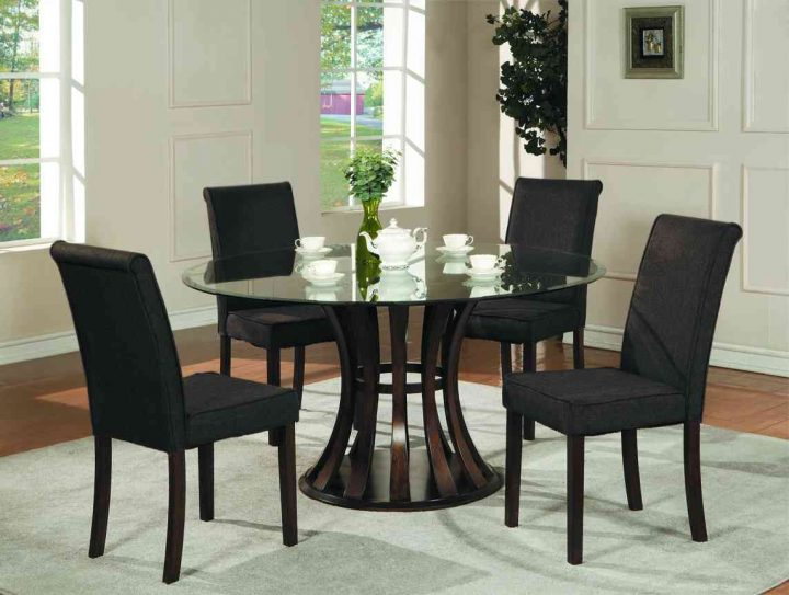 Impressive Kitchen Dining Sets Kitchen Design Awesome Glass Dining Room Table Kitchen Dining