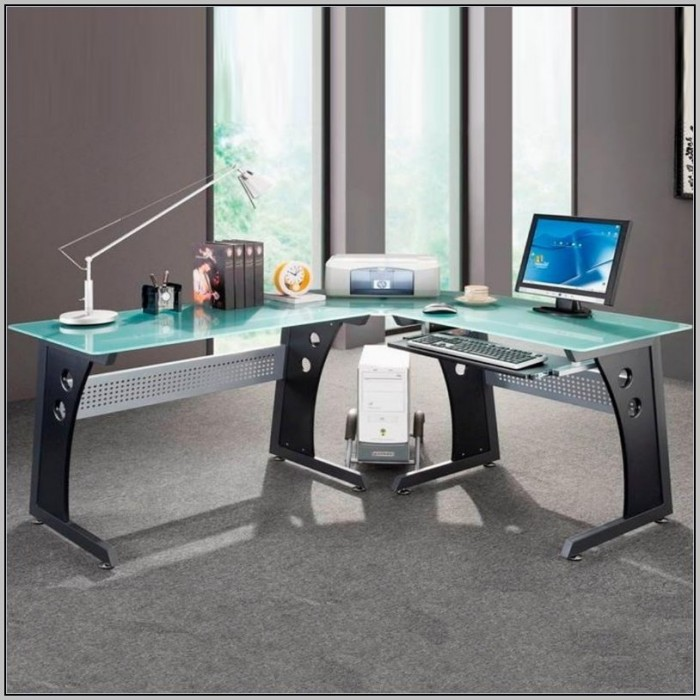 Impressive L Desk Gaming Setup Clever Design L Shaped Gaming Desk Stylish Ideas 13 Best Gaming