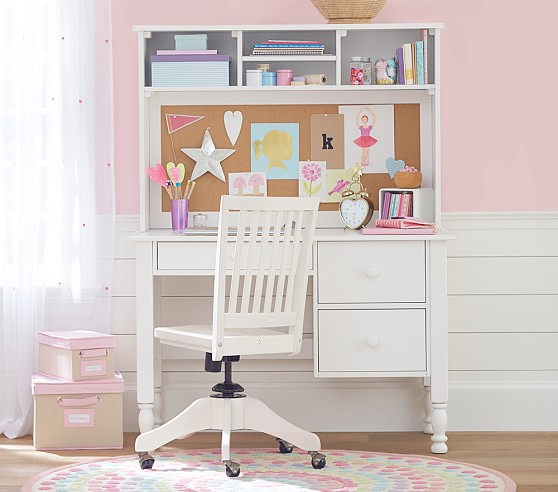 Impressive Large Desk With Storage Catalina Storage Desk Tall Hutch Pottery Barn Kids