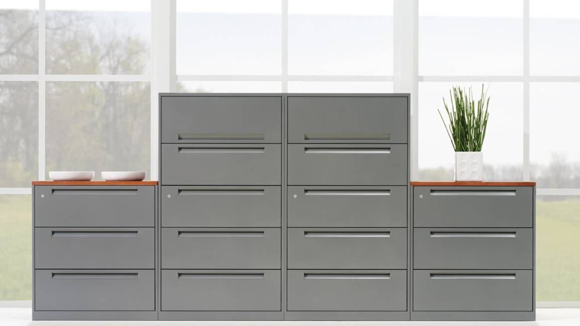 Impressive Lateral File Cabinet With Storage Ts Series Lateral File Cabinets Storage Steelcase