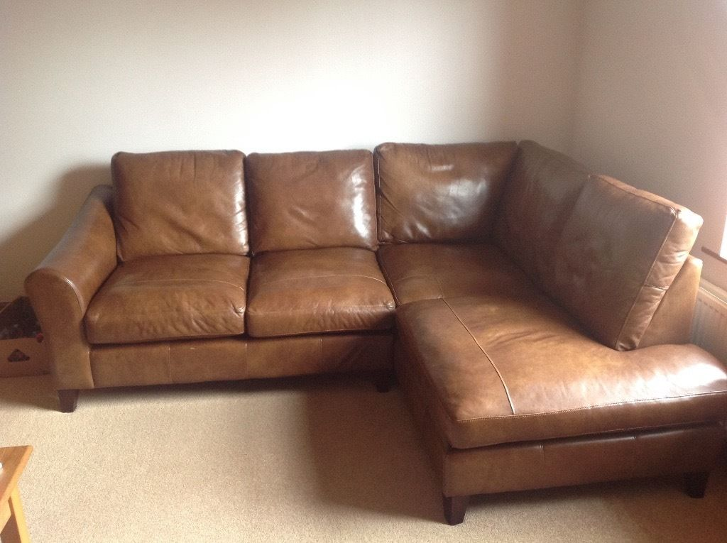 Impressive Laura Ashley Leather Sofa Stunning Laura Ashley Baslow Brown Leather Corner Sofa Footstool