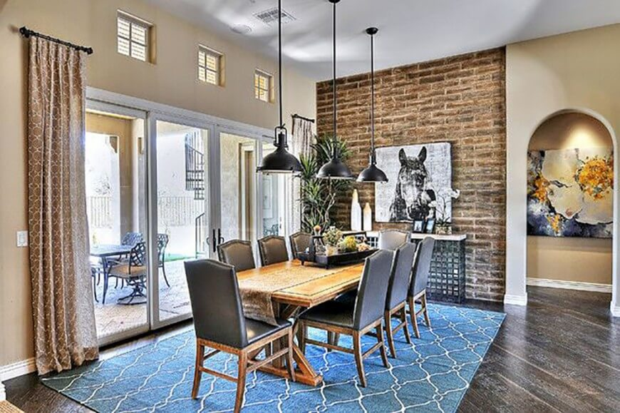 Impressive Leather Upholstery For Dining Room Chairs 22 Elegant Dining Rooms With Upholstered Chairs Images