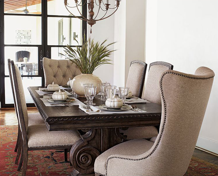 Impressive Leather Upholstery For Dining Room Chairs The Appropriate Modern Dining Room Chairs