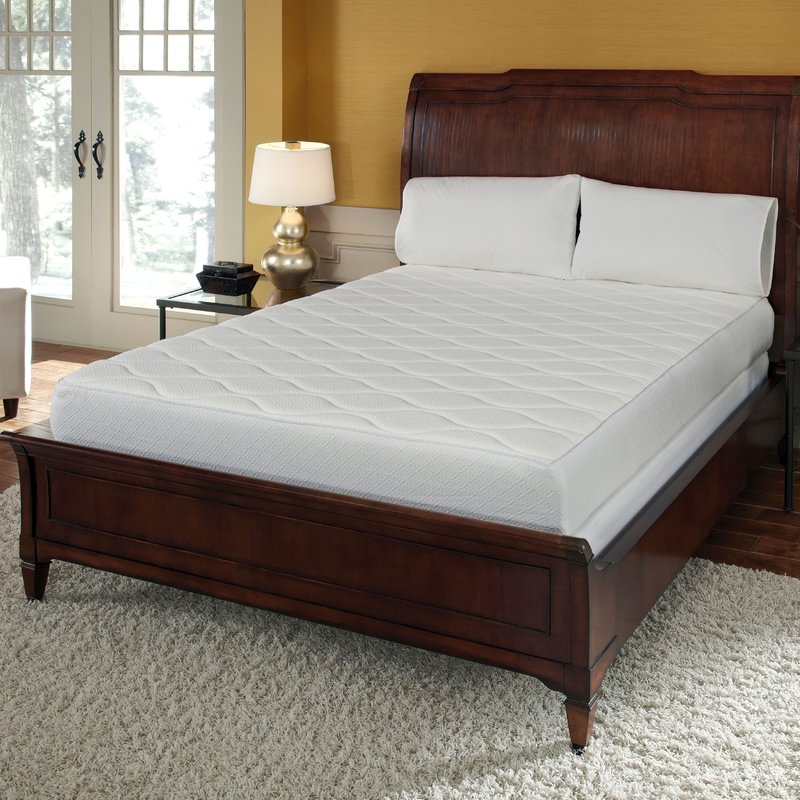 Impressive Memory Foam Mattress Frame Alwyn Home 10 Firm Memory Foam Mattress Reviews Wayfair