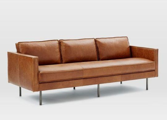 Impressive Modern Brown Leather Sofa Best 25 Modern Leather Sofa Ideas On Pinterest Tan Couch Decor