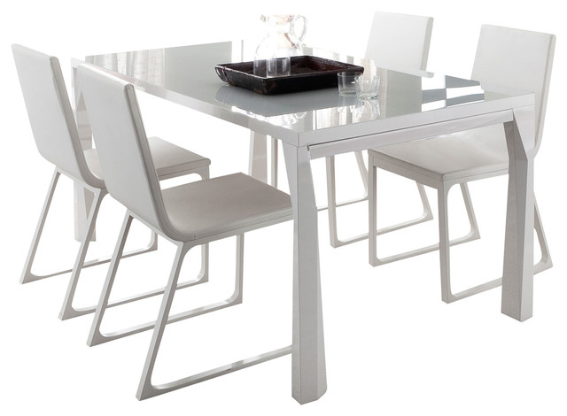 Impressive Modern Extendable Dining Table Amazing Of Expandable Dining Table Modern Sapphire Prisma