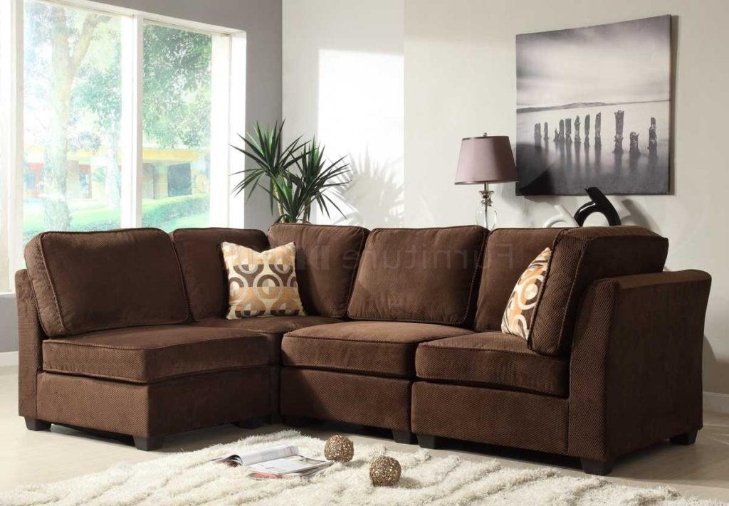 Impressive Modular Sectional Sofa Microfiber Astonishing Microfiber Modular Sectional Sofa Design Ideas Eva