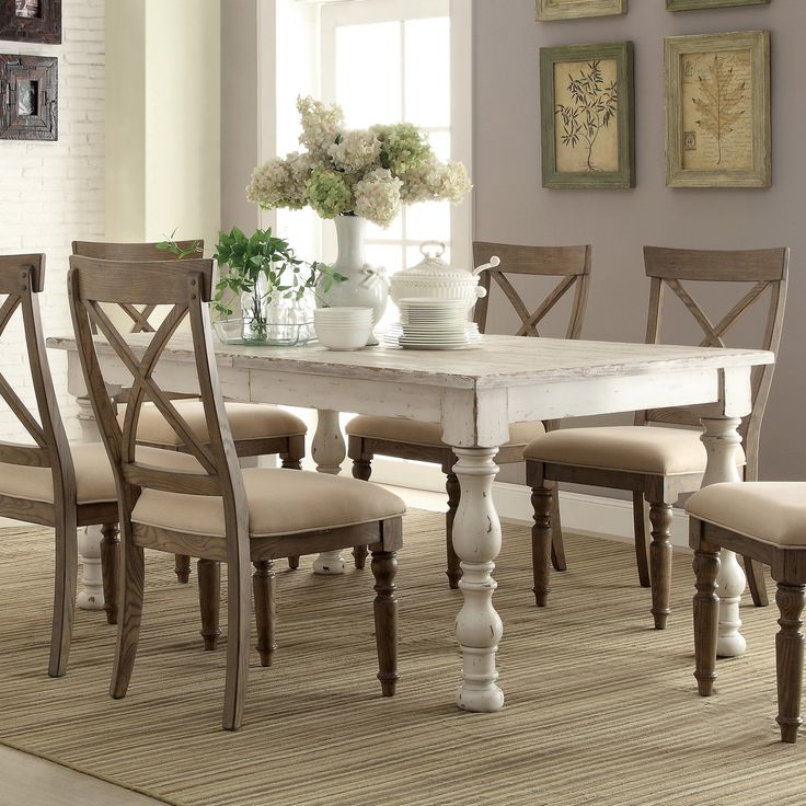 Impressive Natural Wood Kitchen Chairs Best 25 White Dining Room Table Ideas On Pinterest Wood Dinning