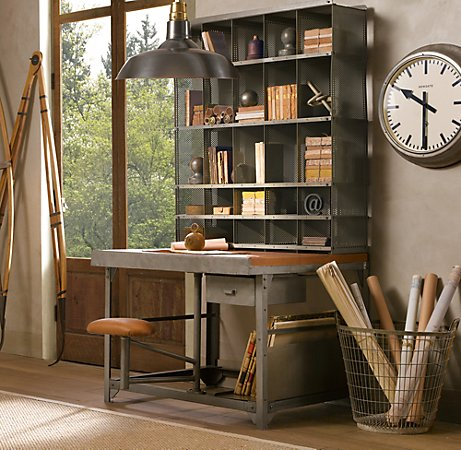 Impressive Office Desk With Lots Of Storage 1930s French Postal Desk Will Give Your Home Office Some Class