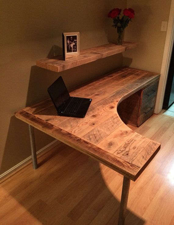 Impressive Office Desk With Shelves Best 25 Curved Desk Ideas On Pinterest Desk With Drawers L