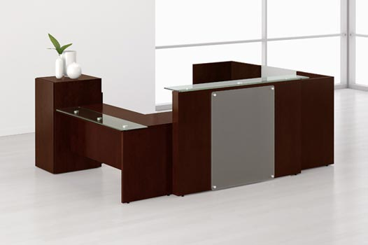 Impressive Office Furniture Reception Desk Adorable Office Reception Desks Also Home Decor Arrangement Ideas
