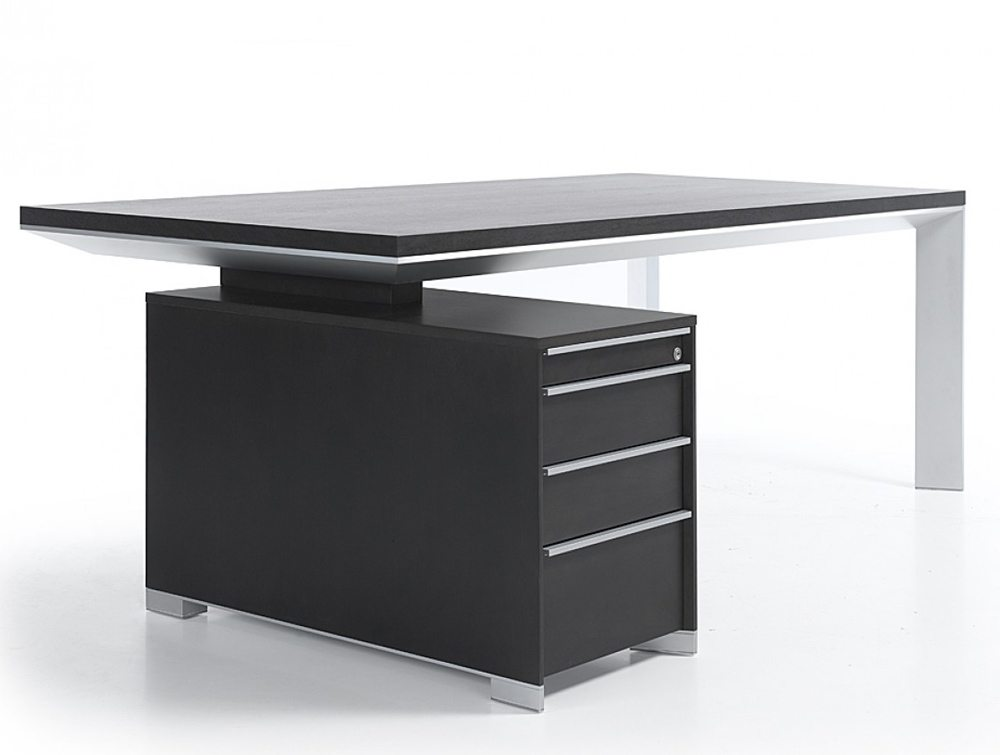 Impressive Office Table With Drawers Balma In Executive Office Desktable With Accessories