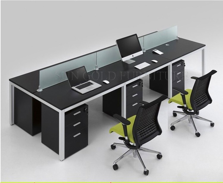 Impressive Office Workstation Computer Modern 6 People Workstation Computer Tables Office Design Sz