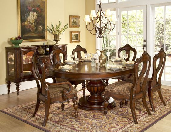 Impressive Oval Dining Room Table Oval Dining Room Table Ashley Dinette Sets Counter Height Dinette