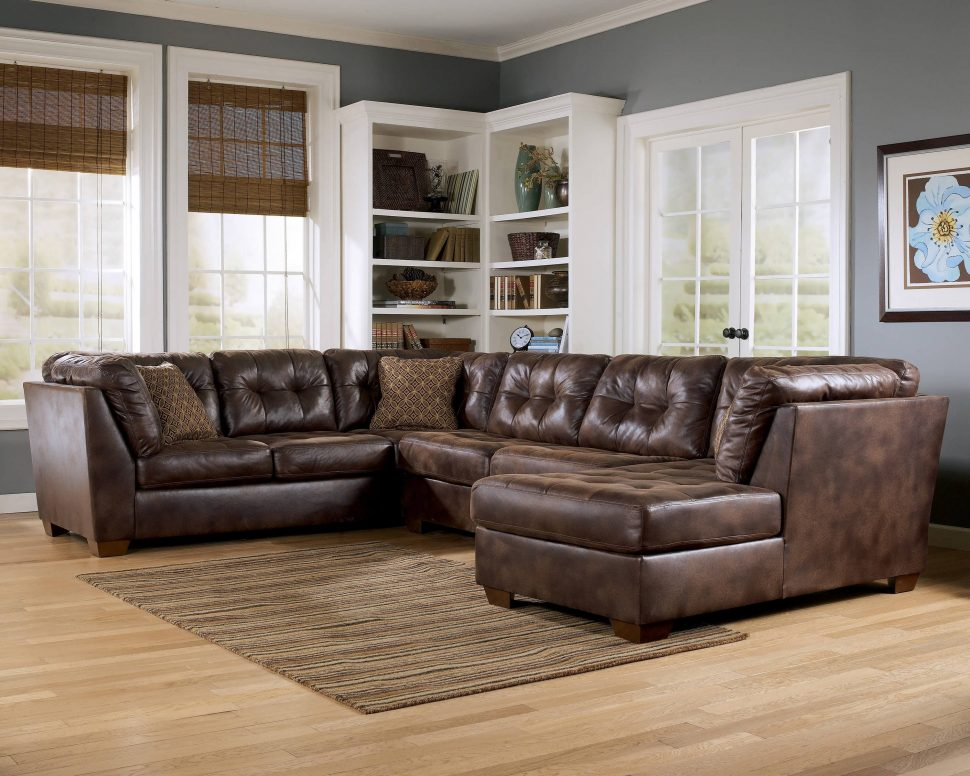 Impressive Oversized Leather Sectional With Chaise Leather Sectional Tags Small Sectional Sofa With Recliner