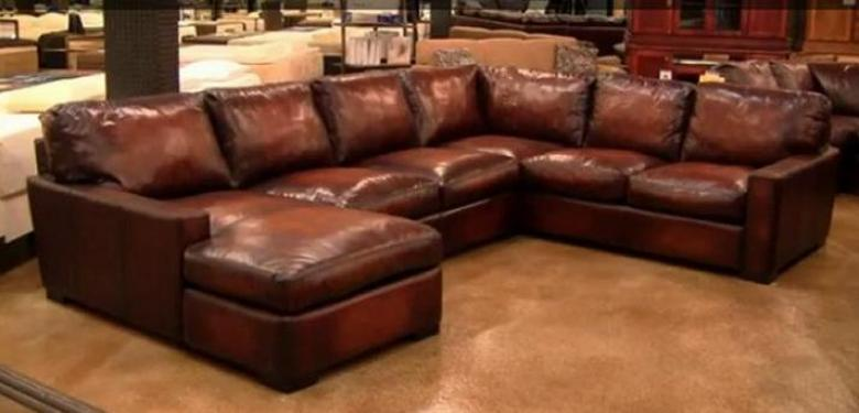 Impressive Oversized Leather Sectional With Chaise Sofa Beds Design Awesome Contemporary Oversized Sectionals Sofas