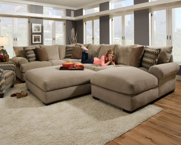 Impressive Oversized Sectionals With Chaise Sofa Oversized Sectionals With Chaise Chaise Sofa Modern Sofa