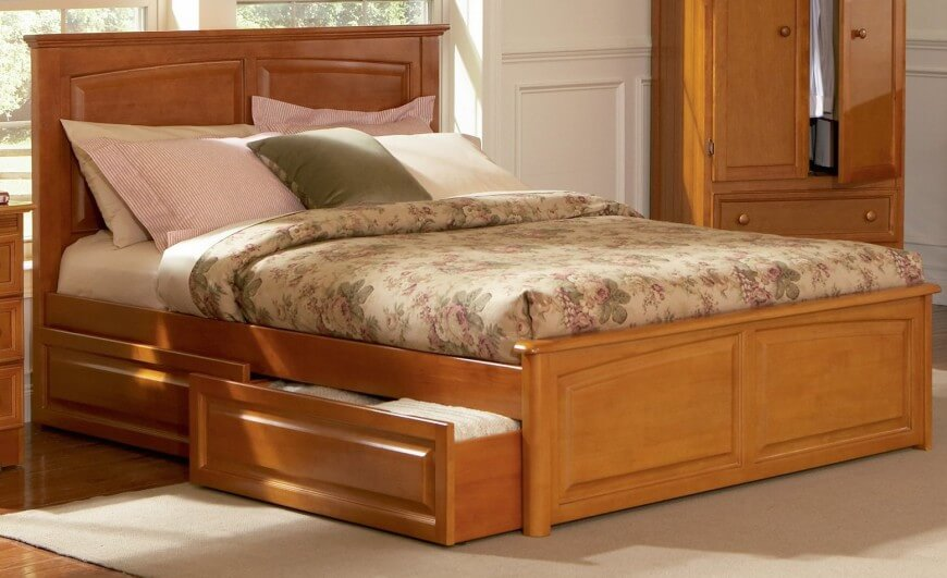 Impressive Queen Bed With Bed Underneath 25 Incredible Queen Sized Beds With Storage Drawers Underneath