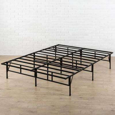 Impressive Queen Mattress Foundation Only Bed Frame The Home Depot