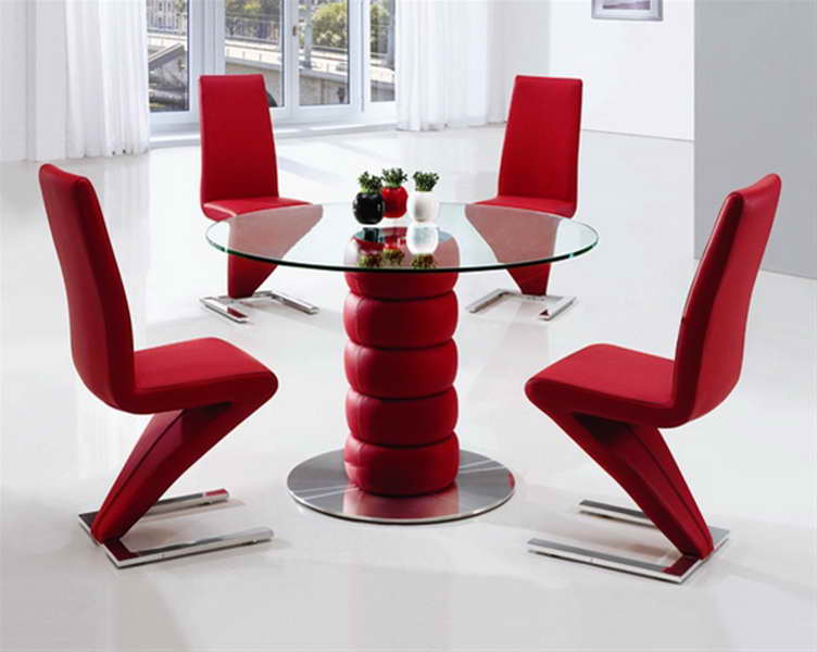Impressive Red Dining Room Chairs Red Dining Room Table And Chairs Dining Table Red Dining Room