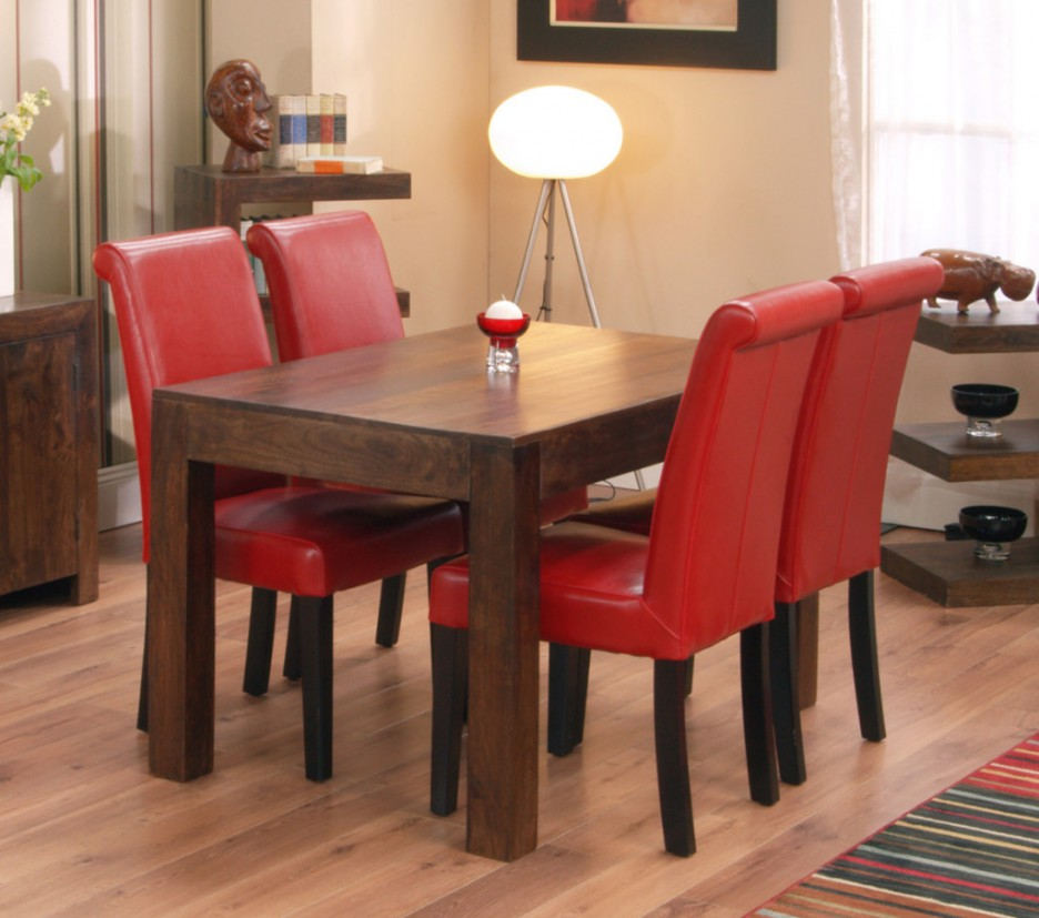 Impressive Red Upholstered Dining Room Chairs Red Upholstered Dining Room Chair Dining Chairs Design Ideas