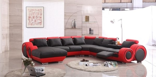 Impressive Sectional With Recliner And Chaise Lounge Reclining Sectional Sofa Furniture Sofas For With Recliner And