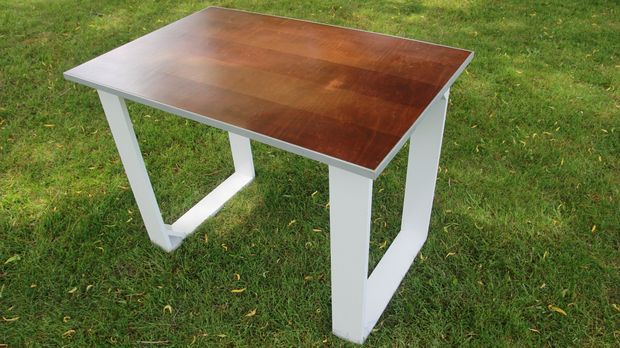 Impressive Simple Modern Desk Diy Simple Modern Desk 6 Steps With Pictures