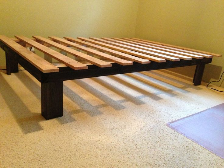 Impressive Simple Queen Size Bed Frame Best 25 Simple Bed Frame Ideas On Pinterest Build A Platform