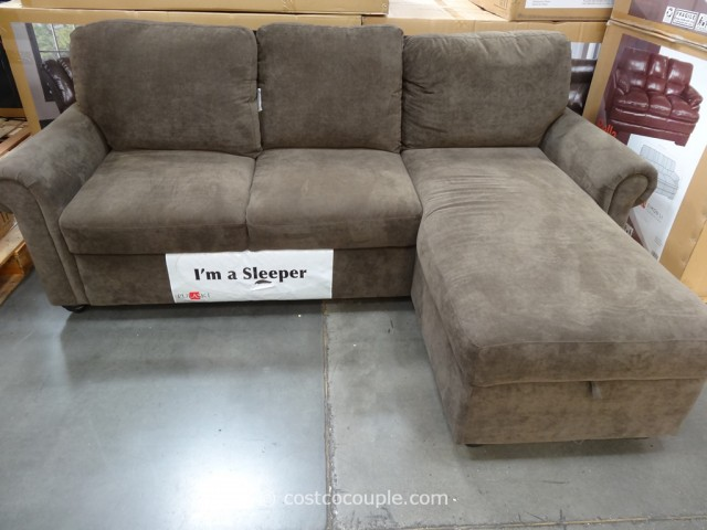 Impressive Sleeper Sofa With Chaise Lounge Costco Sleeper Sofa With Chaise Tourdecarroll