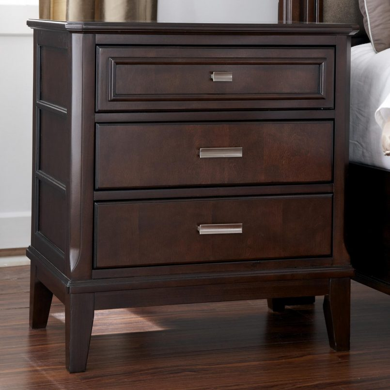 Impressive Small Black Night Table Bedroom Classy Black Nightstand Small Nightstand Tall Night