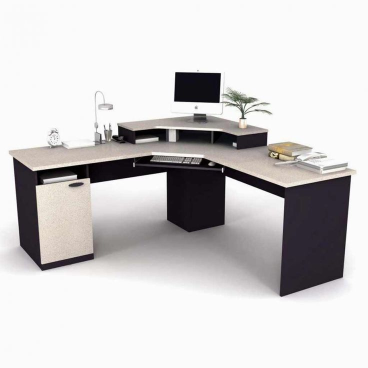 Impressive Small Black Office Desk Best 25 Small L Shaped Desk Ideas On Pinterest Office Room