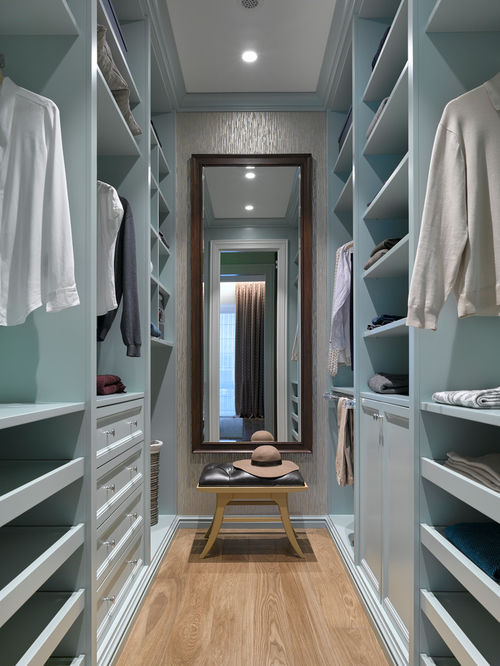 Impressive Small Walk In Closet Design Small Walk In Closet Ideas Design Photos Houzz