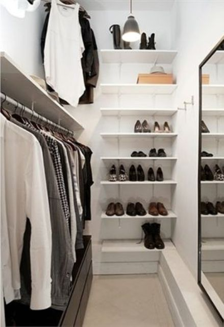 Impressive Small Walk In Closet Organization Ideas 4 Small Walk In Closet Organization Tips And 28 Ideas Digsdigs
