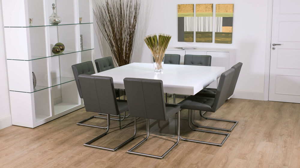 Impressive Square Dining Table For 8 Dining Room Outstanding 8 Seater Square Dining Room Table 8