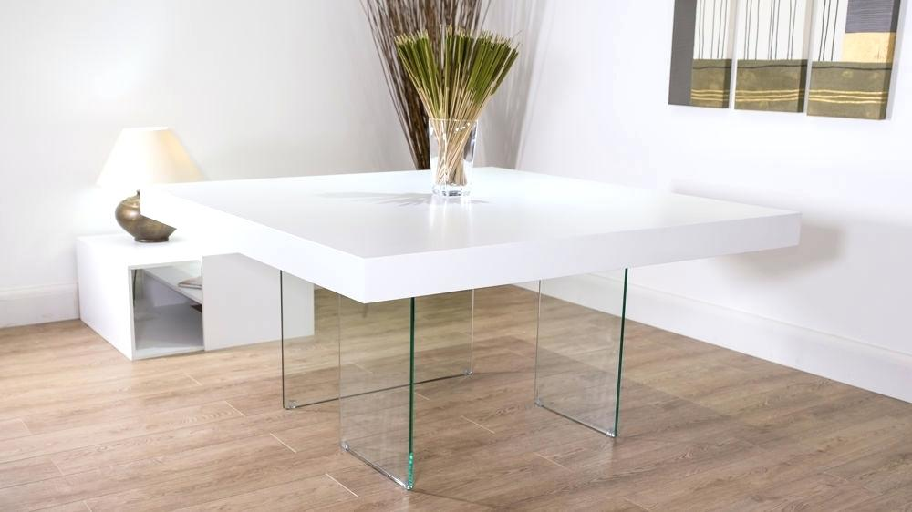 Impressive Square White Dining Table Dining Table Dining Room Table White Rooms Ikea And Chairs