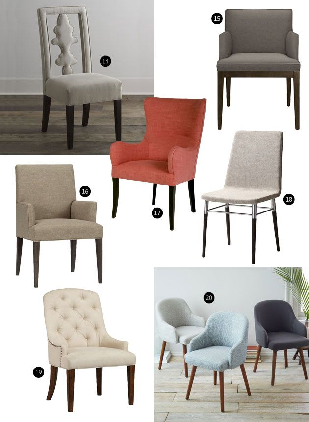 Impressive Upholstered Dining End Chairs Best 25 Upholstered Dining Chairs Ideas On Pinterest