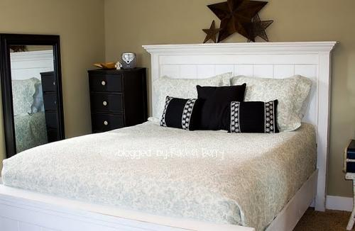 Impressive White Full Size Headboard And Footboard Ana White Full Size Farmhouse Bed Diy Projects