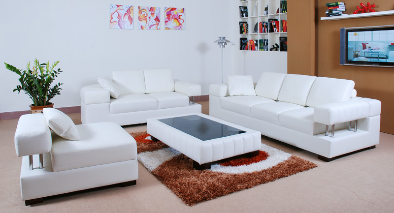 Impressive White Leather Living Room Chairs Amazing White Furniture Set Living Room Living Room White Living